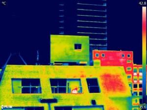 赤外線イメージ